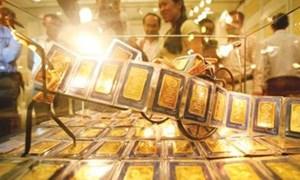 Giá vàng trong nước giảm tiếp 200.000 đồng/lượng