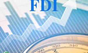 Vốn FDI đăng ký năm nay vượt mốc 10 tỷ USD