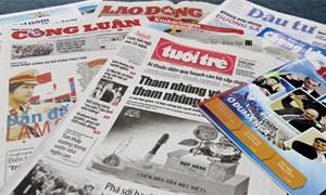 Áp thuế 10% với báo chí là phù hợp