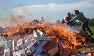 Tiếp tục huy động kinh phí hỗ trợ công tác chống buôn lậu, kinh doanh thuốc lá giả