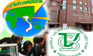 Vietcombank lãi 3.350 tỷ đồng trong năm 2008