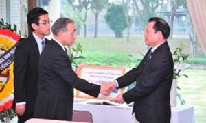 Ngành Tài chính ủng hộ 350 triệu đồng giúp nhân dân Nhật Bản khắc phục hậu quả động đất, sóng thần