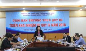 Phát hiện, xử lý 79.515 vụ buôn lậu, gian lận thương mại trong quý III/2018