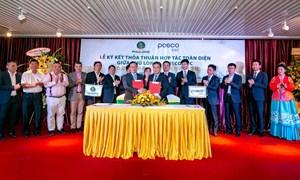 Ký kết thỏa thuận hợp tác toàn diện giữa công ty Phú Long và Posco E&C