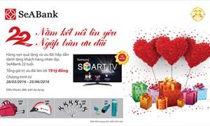"""SeABank công bố kết quả đợt 3 chương trình """"22 Năm Kết nối tin yêu – Ngập tràn ưu đãi"""""""