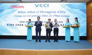 Khu đô thị Dragon City của công ty Phú Long được vinh danh dự án đáng sống 2019