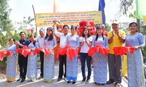 Khánh thành cầu Tường Nguyên 282 do Công ty Phú Long tài trợ tại tỉnh Long An