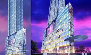 Tháp SJC gần chợ Bến Thành bị cắt ngọn từ 54 xuống còn 46 tầng nổi