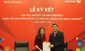 200 máy bán vé xổ số tự chọn trong chuỗi cửa hàng Vinmart+ tại Hà Nội và TP. Hồ Chí Minh