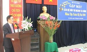 Lãnh đạo Bộ Tài chính gặp mặt cán bộ hưu trí phía Nam
