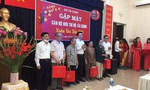Bộ Tài chính tổ chức gặp mặt thân mật cán bộ hưu trí khu vực phía Nam