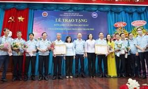 Cục Hải quan TP.HCM nhận bằng khen nhờ thành tích xuất sắc trong công tác phòng chống ma túy