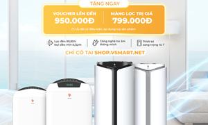 VinSmart trình làng máy lọc không khí và giải pháp quản lý nhà thông minh