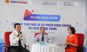 Vietbank mời chuyên gia y tế tư vấn phòng tránh dịch Covid-19 cho CBNV và khách hàng