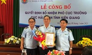 Bổ nhiệm lãnh đạo Cục Hải quan Kiên Giang