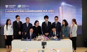 Tập đoàn Takashimaya và Tập đoàn Trung Thủy hớp tác đầu tư Dự án Lancaster Luminaire