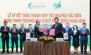 Tập đoàn Hưng Thịnh dành ngân sách 20 tỷ đồng tài trợ Đại học Quốc gia TP. Hồ Chí Minh