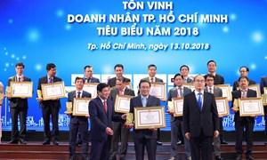 TGĐ Công ty Phú Long được trao giải Doanh nhân tiêu biểu năm 2018