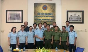 Hải quan Tân Sơn Nhất phối hợp đấu tranh phòng chống tội phạm kinh tế xuyên quốc gia