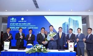 Novaland ký kết hợp tác chiến lược với Lotte E&C