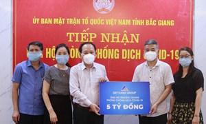 Tập đoàn Đất Xanh ủng hộ 5 tỷ đồng, chung tay cùng Bắc Giang chống dịch Covid-19