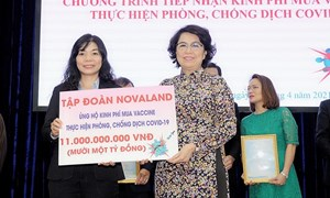Novaland chung tay, góp sức chia sẻ gánh nặng cùng cộng đồng trước đại dịch Covid-19