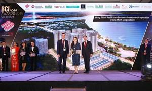 Tập đoàn Hưng Thịnh được vinh danh top 10 nhà phát triển bất động sản hàng đầu Việt Nam