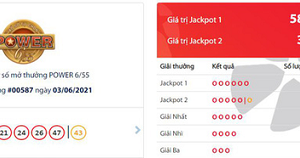 Hệ thống Vinmart+ liên tục bán vé trúng Jackpot
