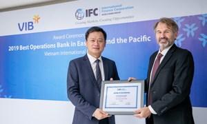 VIB được IFC vinh danh là Ngân hàng phát hành có nghiệp vụ tài trợ thương mại tốt nhất khu vực Đông Á - Thái Bình Dương