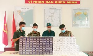 Liên tiếp bắt 3 vụ buôn lậu, thu giữ 3.000 gói thuốc lá