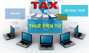 Tăng cường thực hiện thủ tục hành chính thuế bằng phương thức điện tử