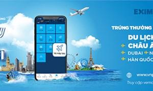 Đặt vé máy bay - vi vu thế giới cùng Eximbank
