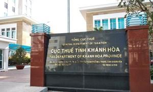 6 tháng, Khánh Hòa thu ngân sách đạt 52,8% dự toán