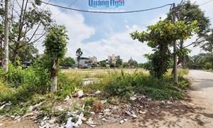 Dự án Khu tái định cư ở TP. Quảng Ngãi: