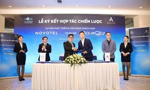 Tập đoàn Novaland hợp tác cùng Tập đoàn quốc tế Accor vận hành khách sạn Novotel tại Khu đô thị Aqua City