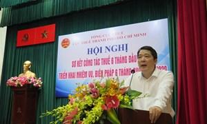 Thu ngân sách TP. Hồ Chí Minh mới đạt được 40% dự toán