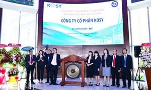 Sở Giao dịch Chứng khoán TP. Hồ Chí Minh đưa gần 104 triệu cổ phiếu của Công ty Cổ phần KOSY vào giao dịch