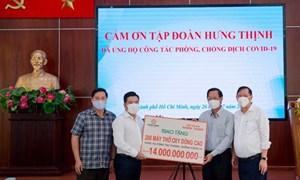 Tập đoàn Hưng Thịnh hỗ trợ khẩn cho TP. Hồ Chí Minh chống dịch