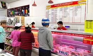 Cung ứng thực phẩm tươi sống tại TP. Hồ Chí Minh vẫn được đảm bảo