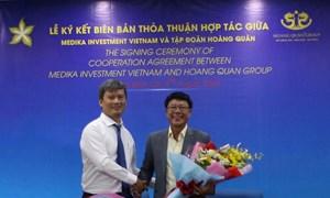Tập đoàn Hoàng Quân hợp tác với Medika Investment Việt Nam phát triển hệ thống bệnh viện quốc tế