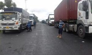 Gấp rút gỡ khó cho hoạt động vận chuyển hàng hóa vào địa bàn