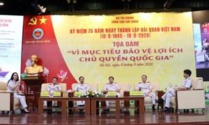 Tọa đàm 75 năm xây dựng, phát triển ngành Hải quan Việt Nam