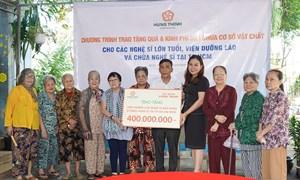 Tập đoàn Hưng Thịnh mang yêu thương đến Viện Dưỡng lão nghệ sĩ và Chùa Nghệ sĩ TP. Hồ Chí Minh