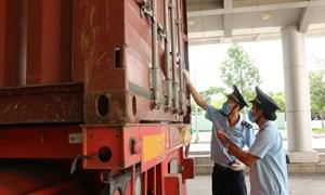 Chi cục Hải quan Cửa khẩu Quốc tế  Bình Hiệp: Tạo điều kiện hàng hóa lưu thông