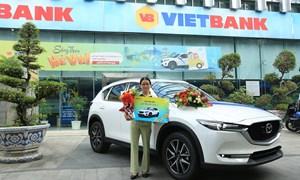 Vietbank trao thưởng xe Mazda CX-5 cho khách hàng gửi tiết kiệm