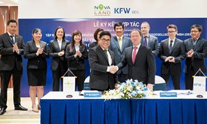 Ngân hàng tái thiết Đức tài trợ phát triển dự án Novaworld Mekong