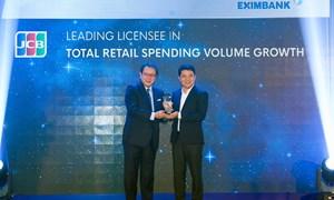 Eximbank vinh dự nhận 3 giải thưởng từ tổ chứ thẻ quốc tế JCB