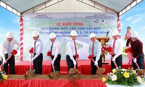 Khởi công cầu Vàm Cái Sứt kết nối Đồng Nai với trung tâm TP.Hồ Chí Minh