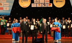 """Eximbank được vinh danh """"Top 20 nhãn hiệu nổi tiếng Việt Nam năm 2020"""""""