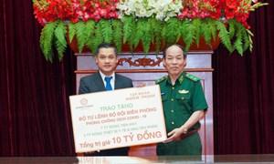 Tập đoàn Hưng Thịnh trao tặng 10 tỷ đồng cho Bộ đội Biên phòng hỗ trợ phòng, chống dịch Covid-19